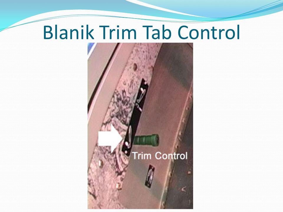 Blanik Trim Tab Control