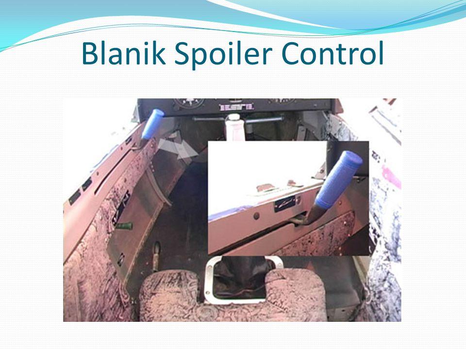Blanik Spoiler Control