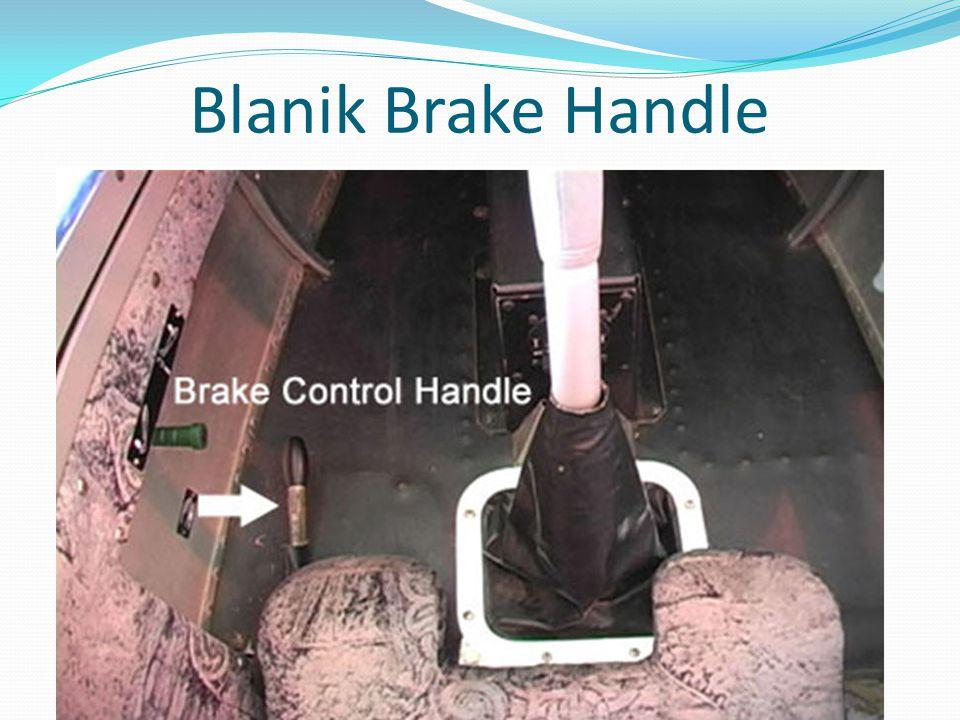 Blanik Brake Handle