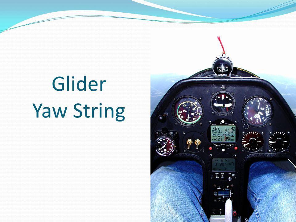 Glider Yaw String
