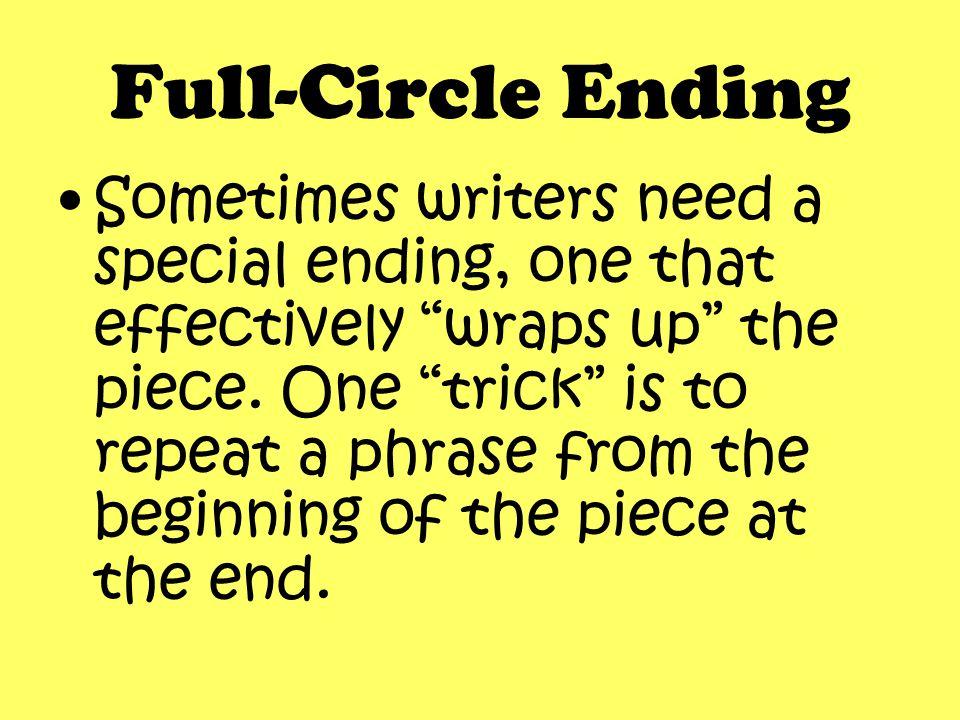 Smiley Face Trick #8 Full-Circle Ending ~Mary Ellen Ledbetter