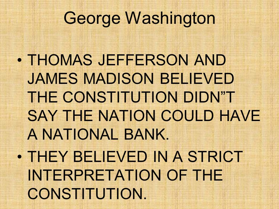 John Adams GEORGE WASHINGTON WAS RIGHT!.POLITICAL PARTIES SPLIT THE COUNTRY.