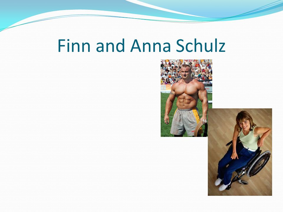 Finn and Anna Schulz
