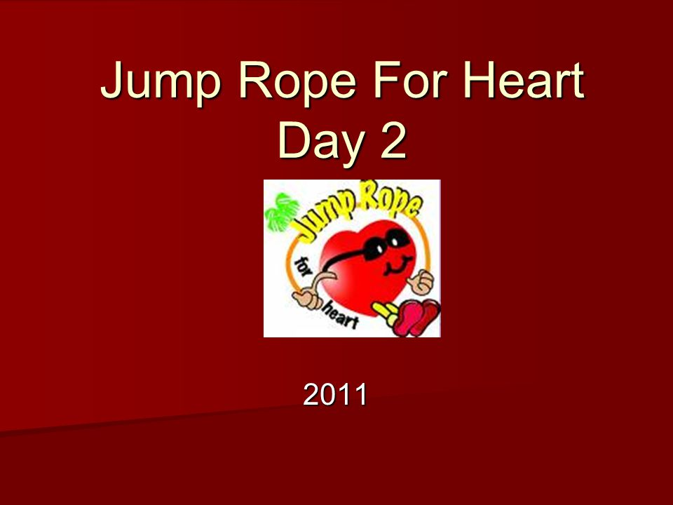 Jump Rope For Heart Day 2 2011