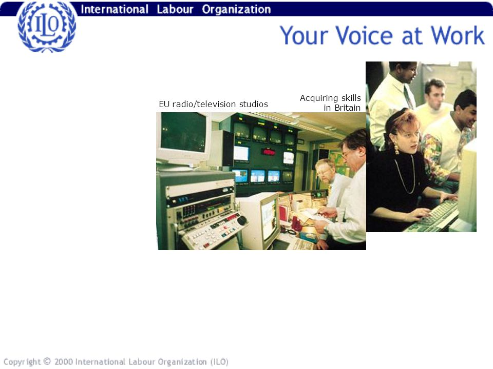 EU radio/television studios