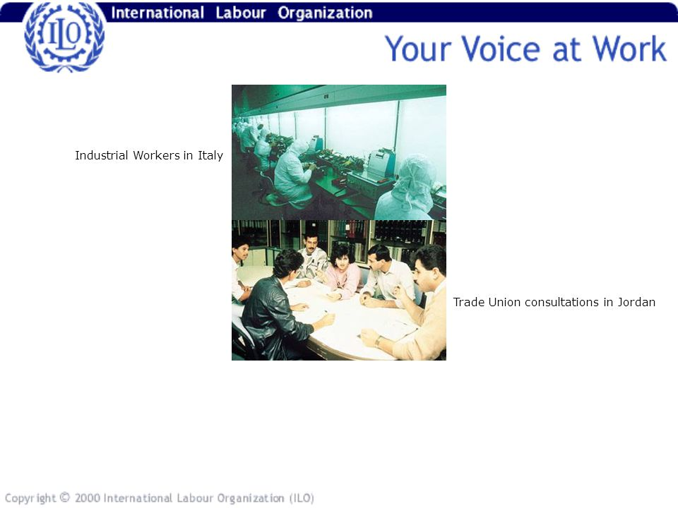 Trade Union consultations in Jordan