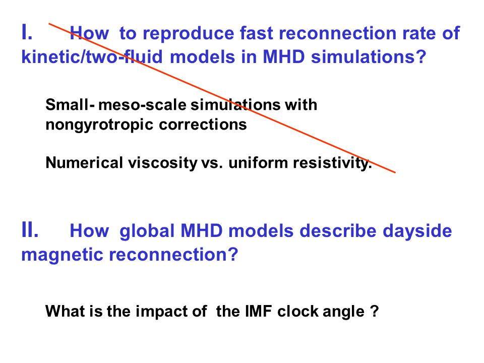 I. How to reproduce fast reconnection rate of kinetic/two-fluid models in MHD simulations? Small- meso-scale simulations with nongyrotropic correction
