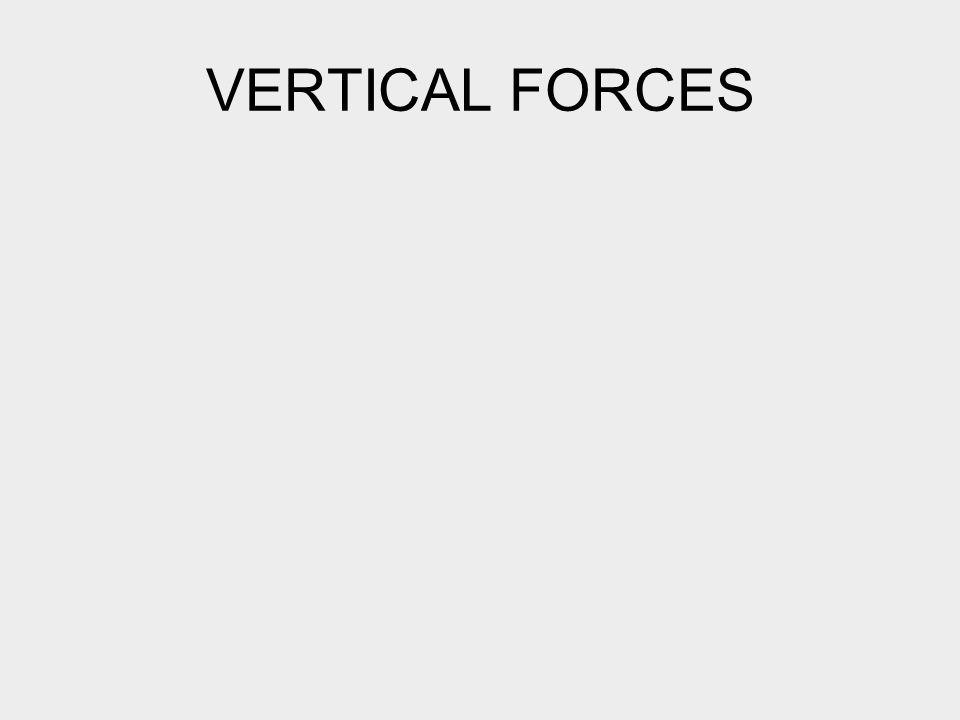 VERTICAL FORCES
