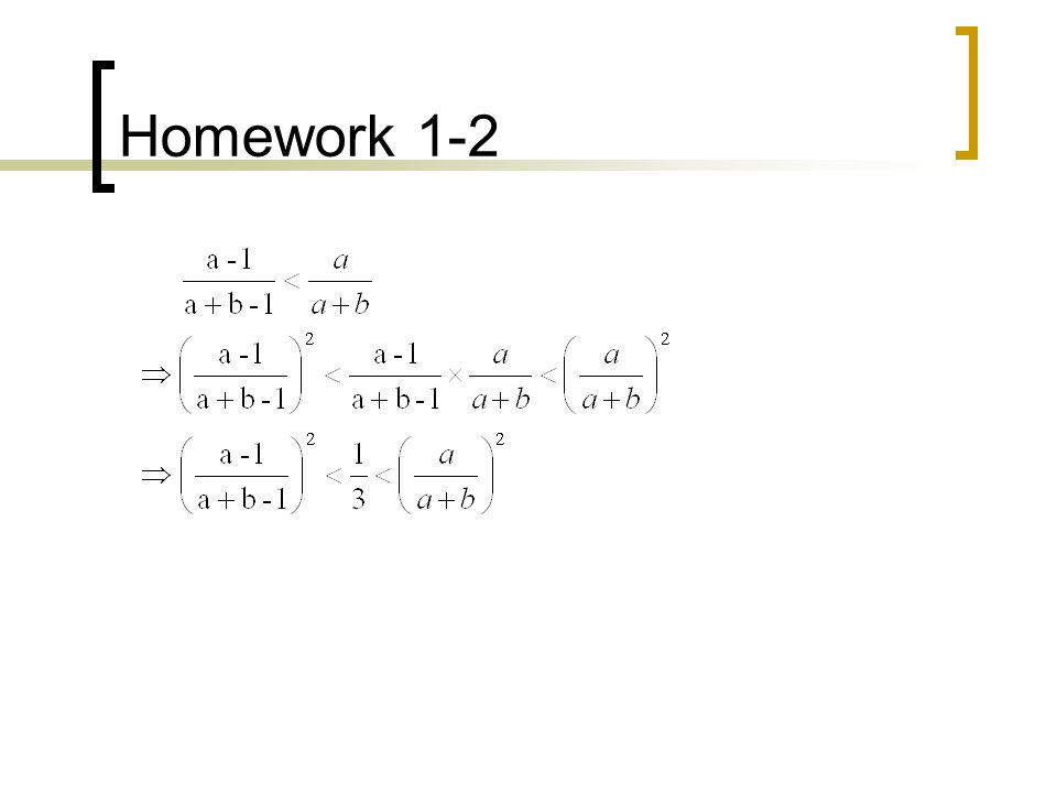 Homework 1-7 Therefore, the probability that i is the best candidate is The probability of selecting the best one is