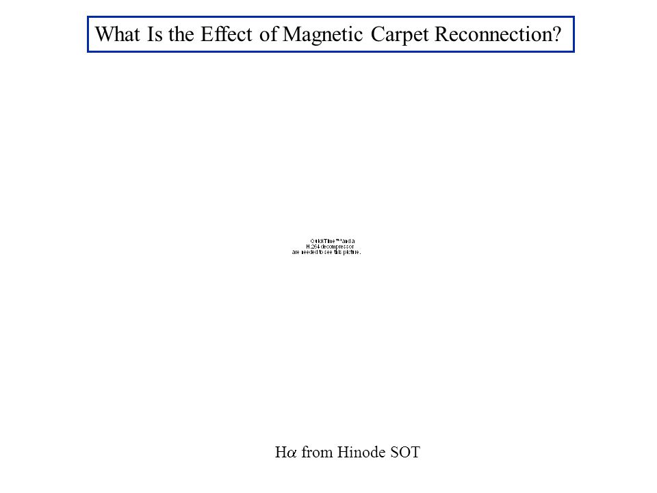 What Is the Effect of Magnetic Carpet Reconnection H  from Hinode SOT