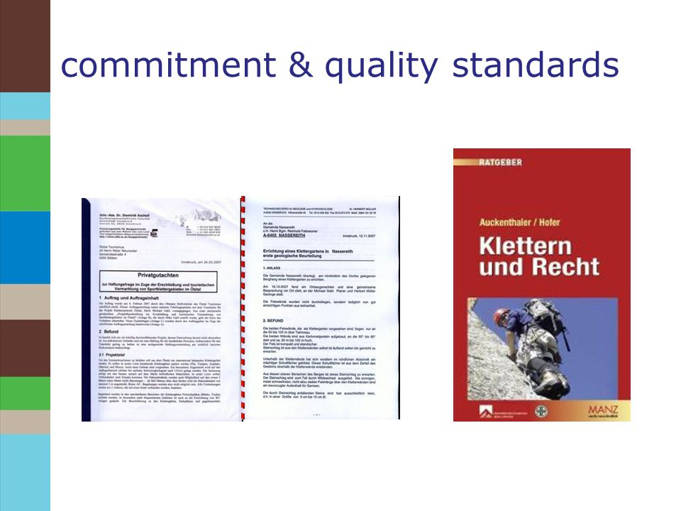 commitment & quality standards