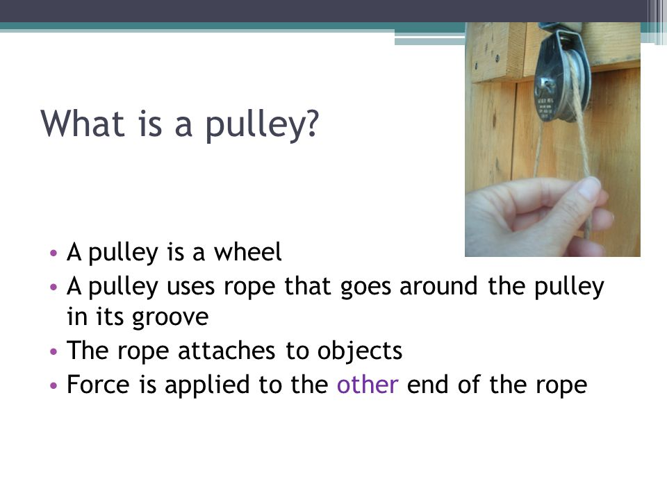 3.Combined (double) Pulley 3.