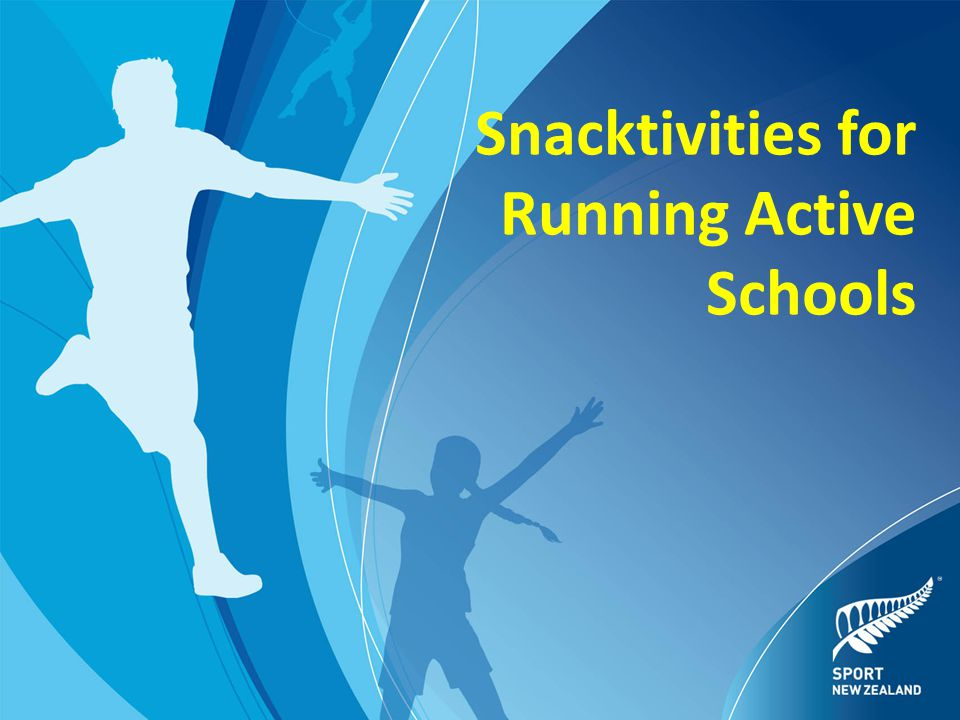 Snacktivities for Running Active Schools