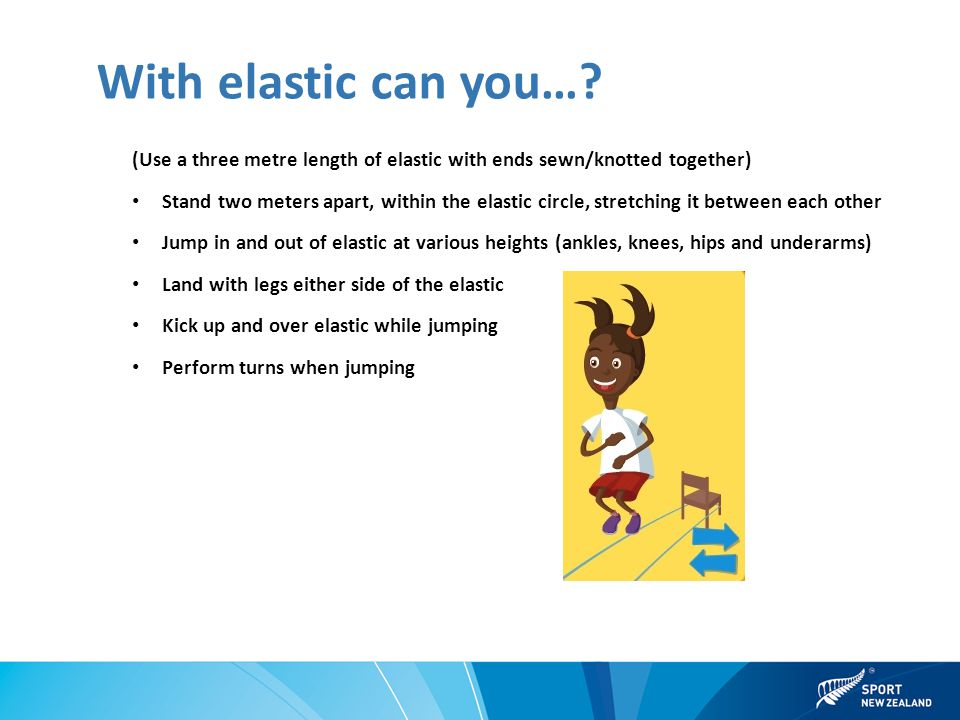 With elastic can you….