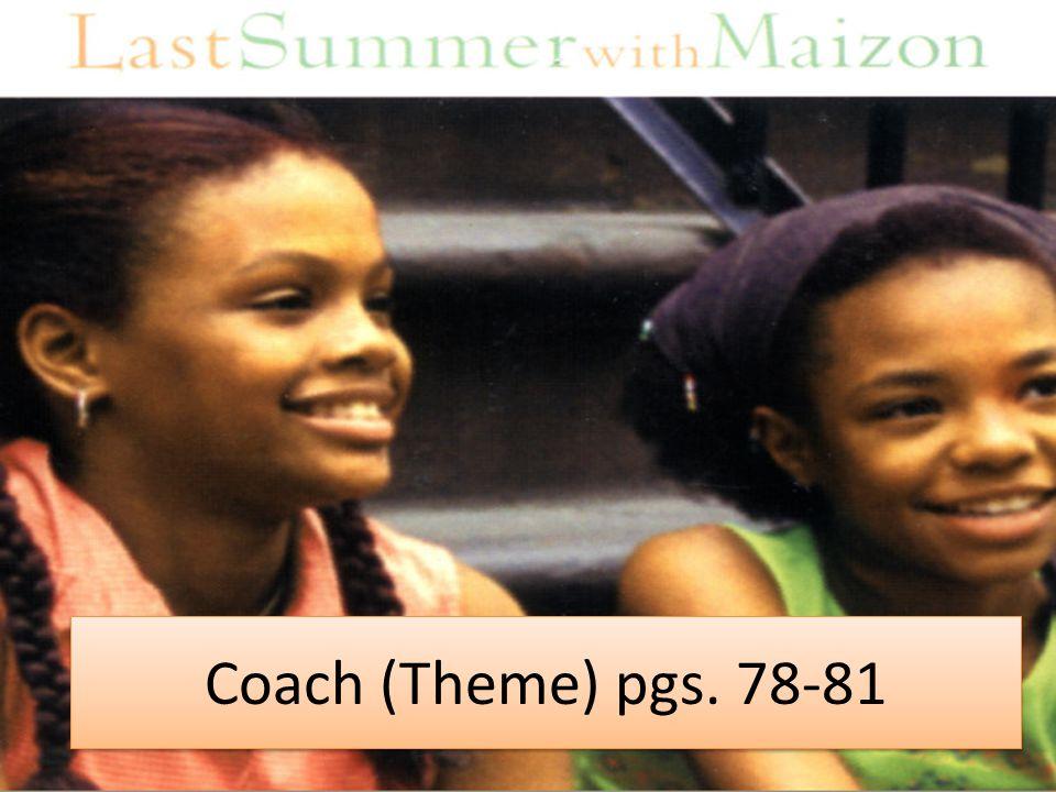 Coach (Theme) pgs. 78-81