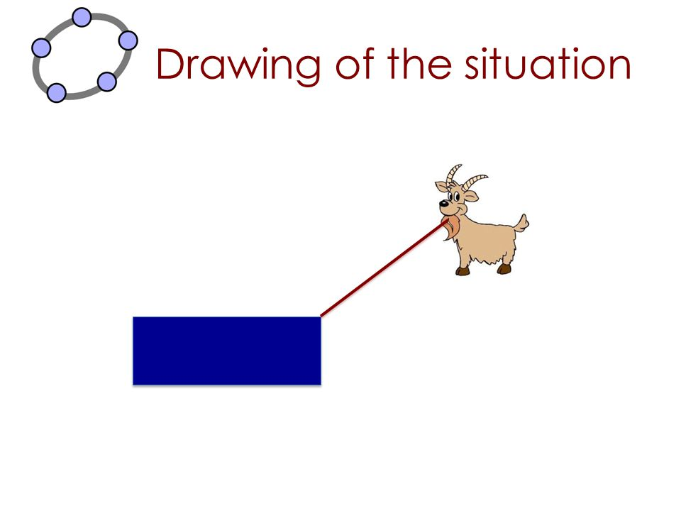 Drawing of the situation