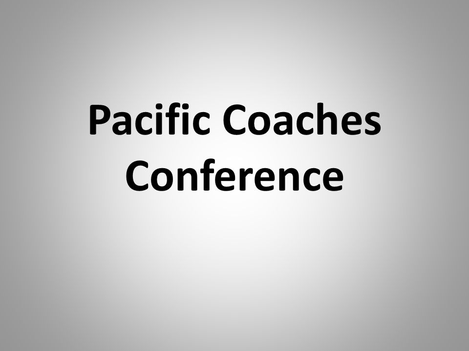 Pacific Coaches Conference