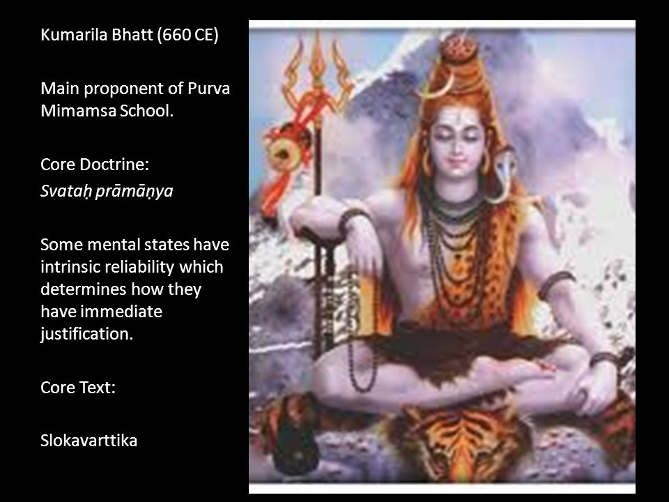 Purva Mimamsa Goals Goals of Mimamsa: Offer an account of Dharma (Moral Obligation and Duty) Remove the necessity of God from the Vedas.