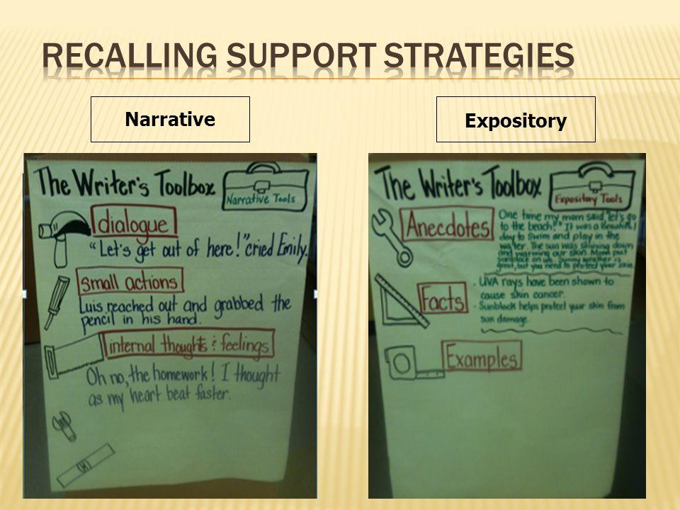Narrative Expository
