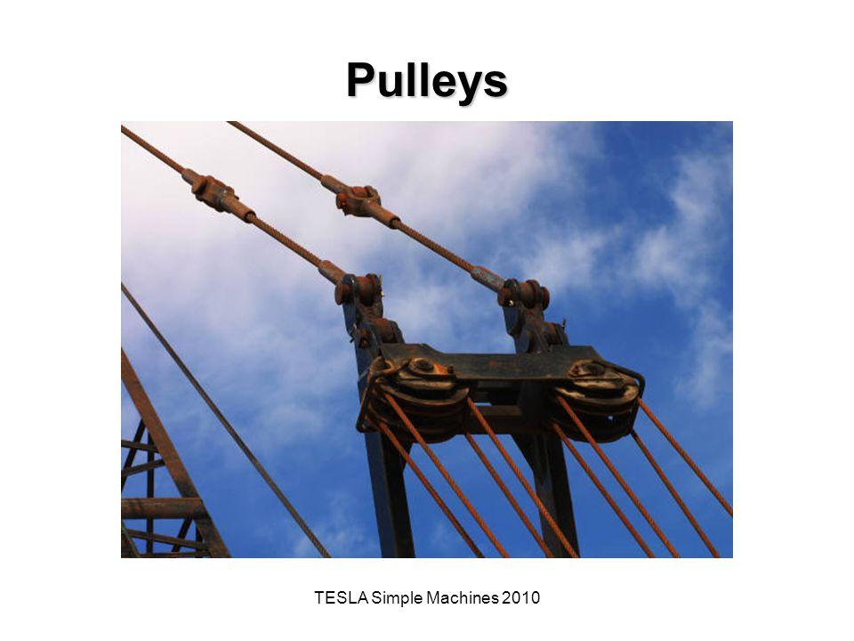 TESLA Simple Machines 2010 Pulleys