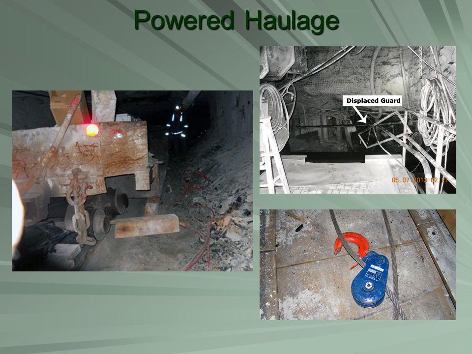 Powered Haulage