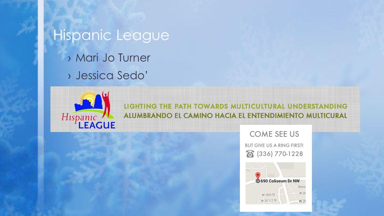 ›Mari Jo Turner ›Jessica Sedo' Hispanic League