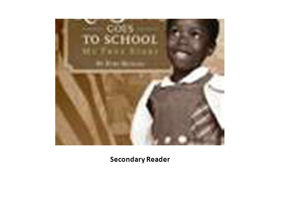Secondary Reader