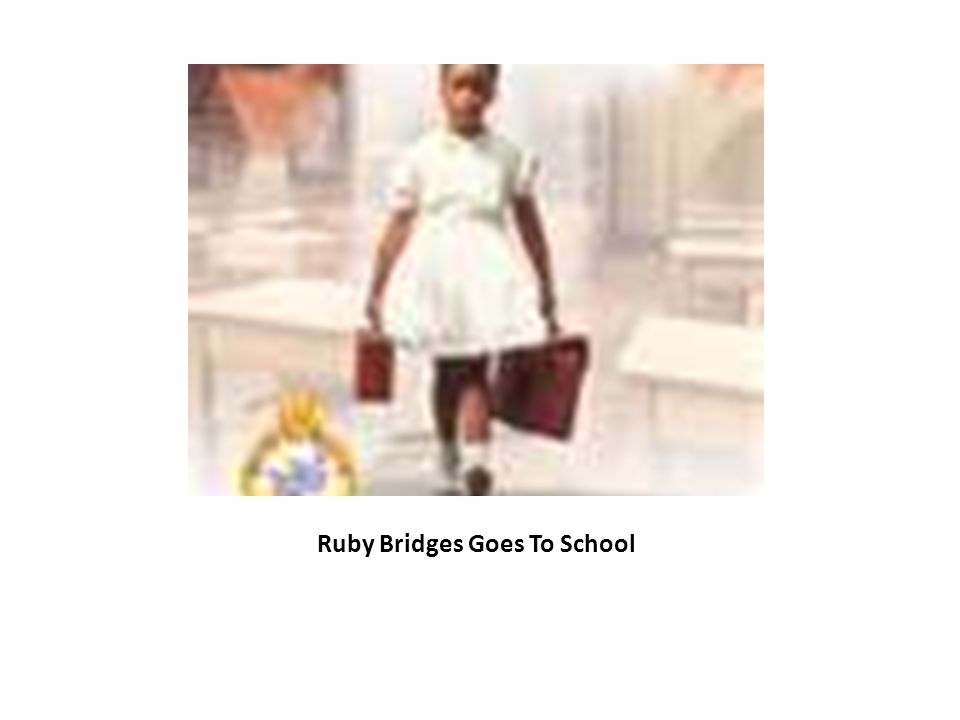Ruby Bridges Foundation Volunteer at William Frantz School as parent school liaison Started after school classes Started ballet classes Started African dance classes Teach manners and etiquette classes Visit many places emphasizing the importance of reading and the power of literacy with the education we receive at home and school For more information visit: www.rubybridges.comwww.rubybridges.com