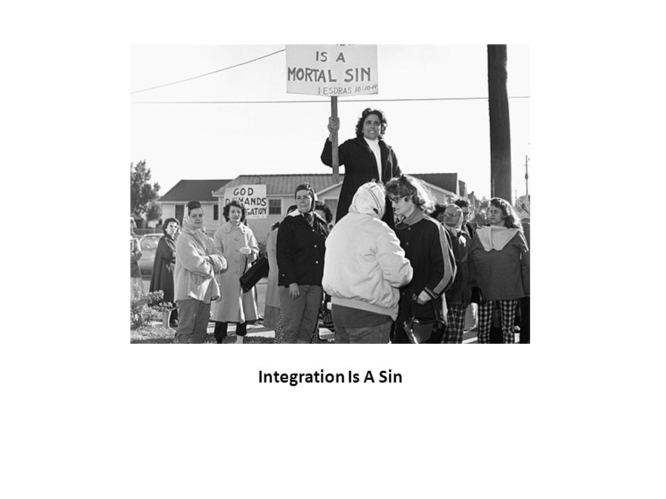 Integration Is A Sin