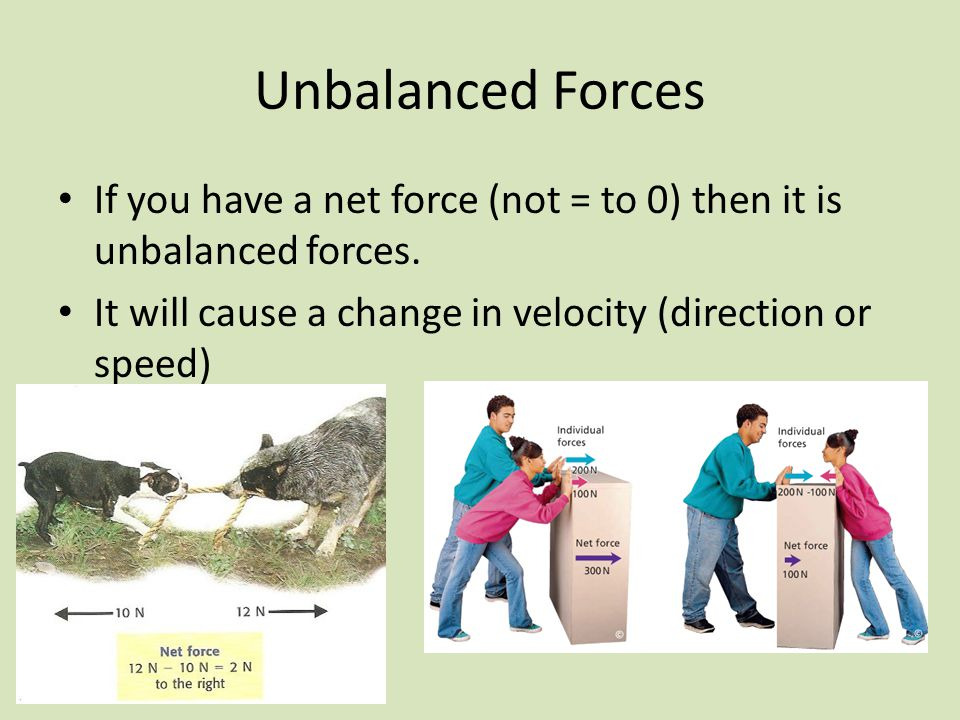 What Is An Unbalanced Force What Is Primary Unbalanced Force