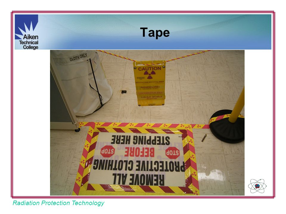 Radiation Protection Technology Tape