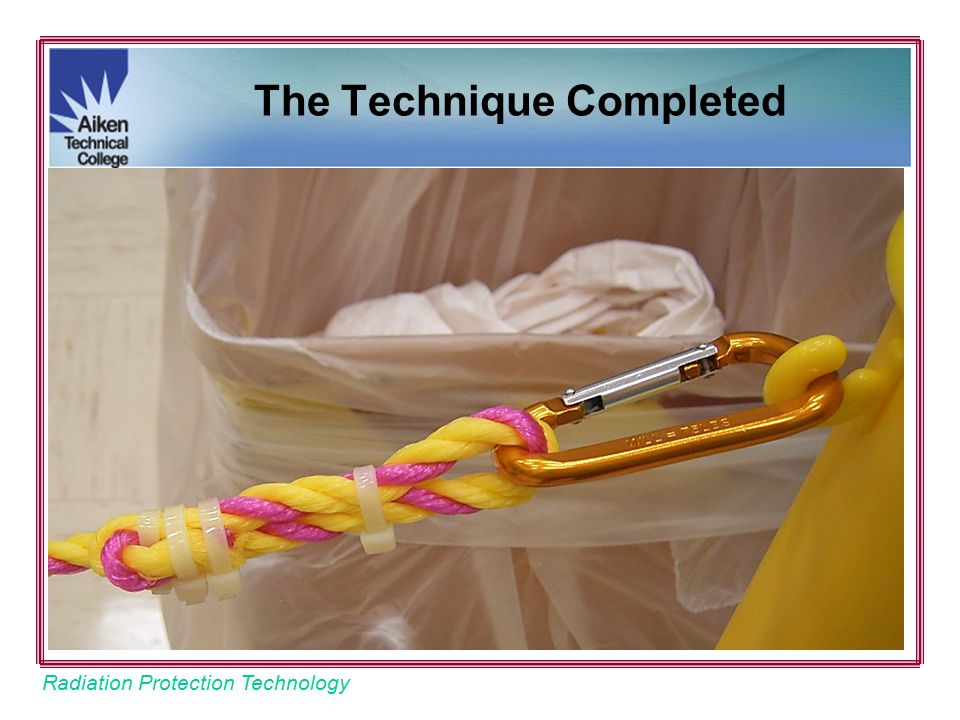 Radiation Protection Technology The Technique Completed