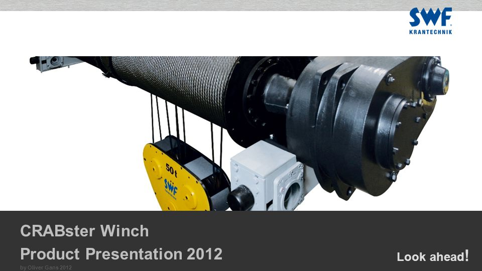Look ahead ! by Oliver Gans 2012 CRABster Winch Product Presentation 2012
