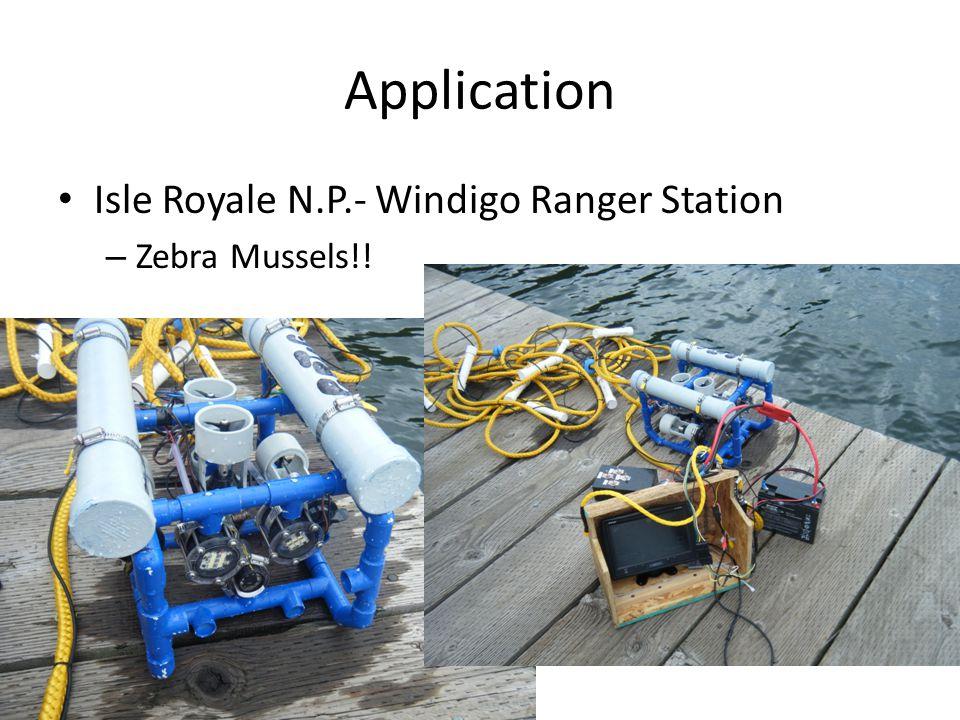 Application Isle Royale N.P.- Windigo Ranger Station – Zebra Mussels!!