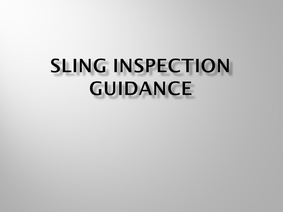 Round sling shall be removed from service if any of the following are visible:  Missing or illegible tag  Acid or caustic burns  Evidence of heat damage  Melting, charring or weld spatters are present on any part of the round sling  Holes, tears, cuts, snags or embedded articles  Broken or worn stitching in the cover which exposes core fibers  Excessive abrasive wear  Knots in any part of the sling  Discoloration, brittle or stiff areas on any part of the sling, which may indicate chemical, heat, or ultraviolet/sunlight damage  For hooks – see ASME B30.10 for removal criteria  For fittings – see ASME B30.26 for removal criteria  Other conditions and/or visible damage that cause doubt as to the continued use of the sling