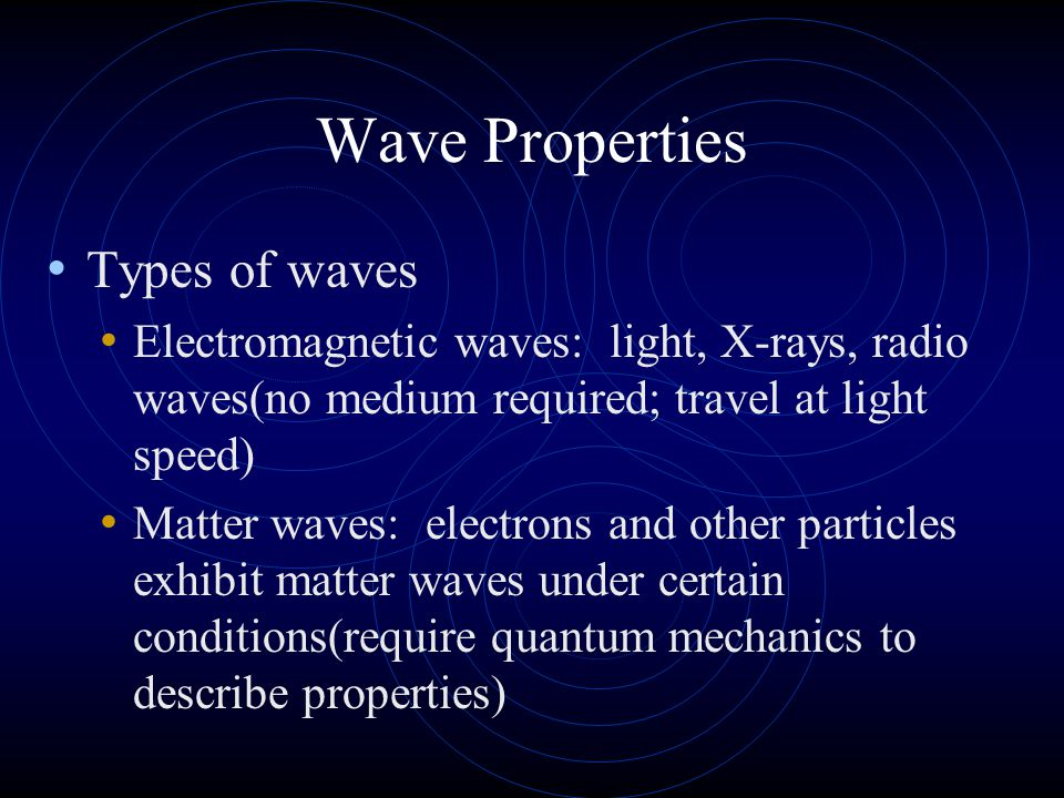 More terms Reflected waves are those that bounce back from a barrier.