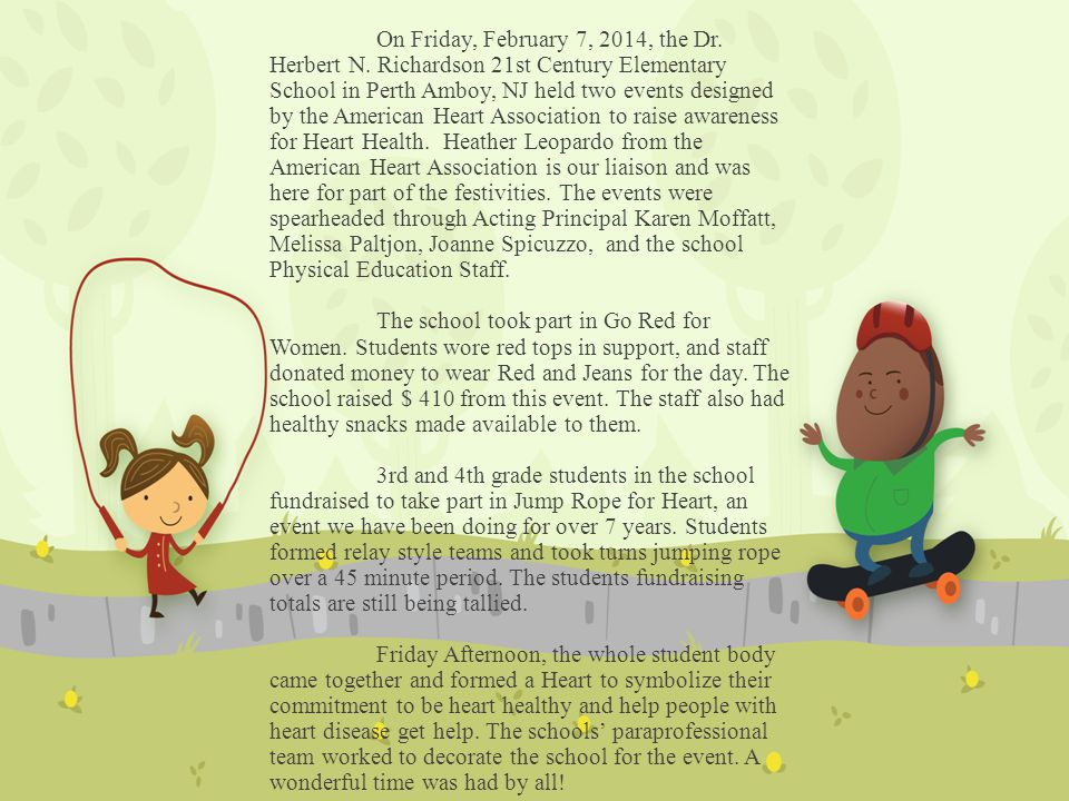 On Friday, February 7, 2014, the Dr.Herbert N.