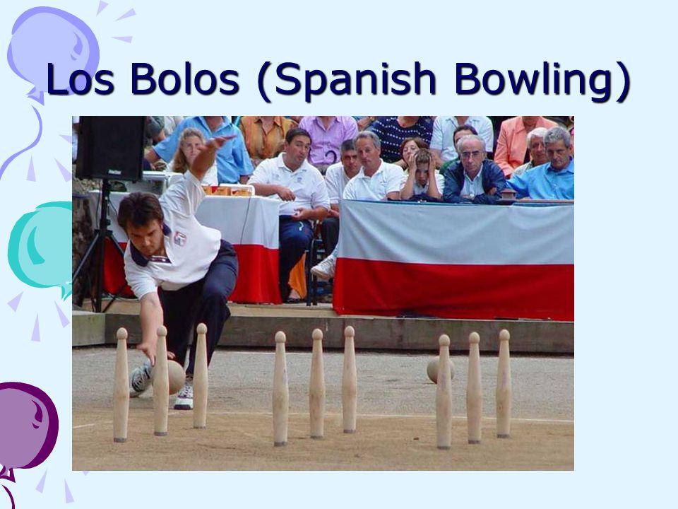 Los Bolos (Spanish Bowling)