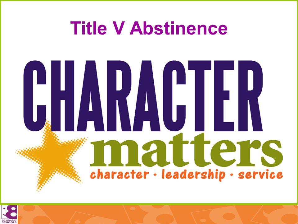 Title V Abstinence