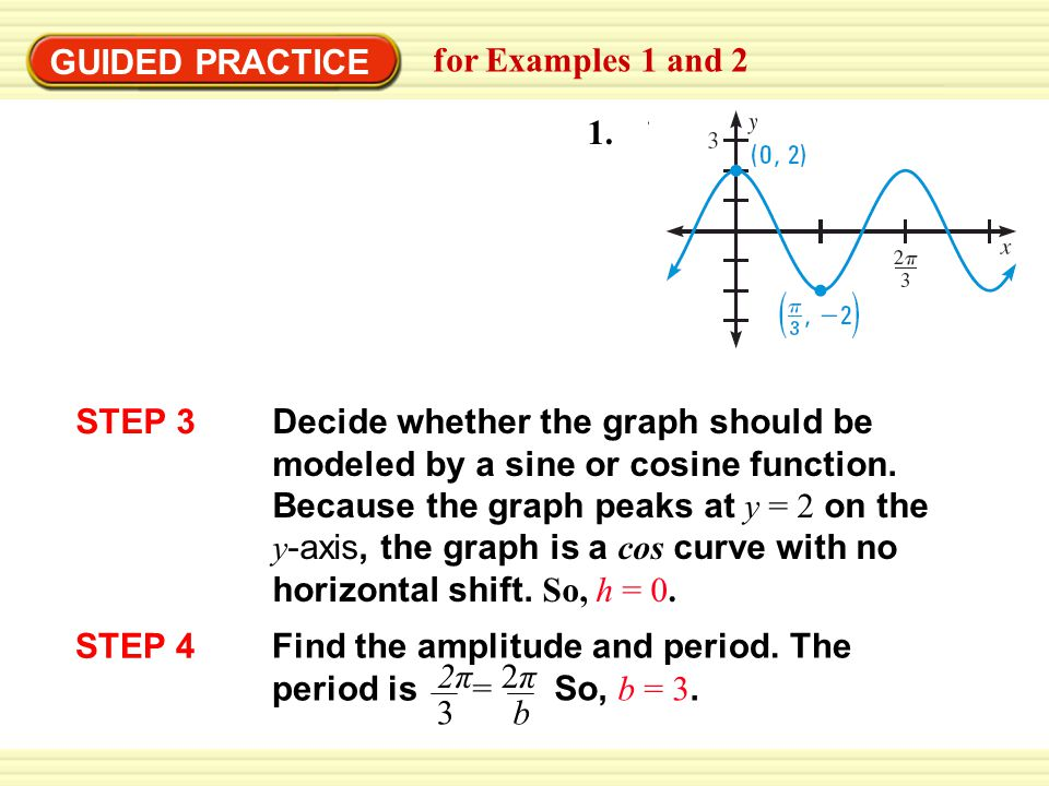 GUIDED PRACTICE for Examples 1 and 2 1.