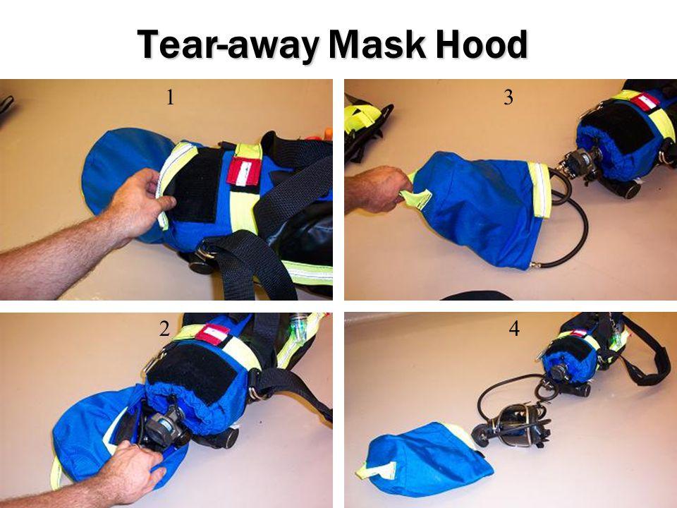 Tear-away Mask Hood 1 2 3 4