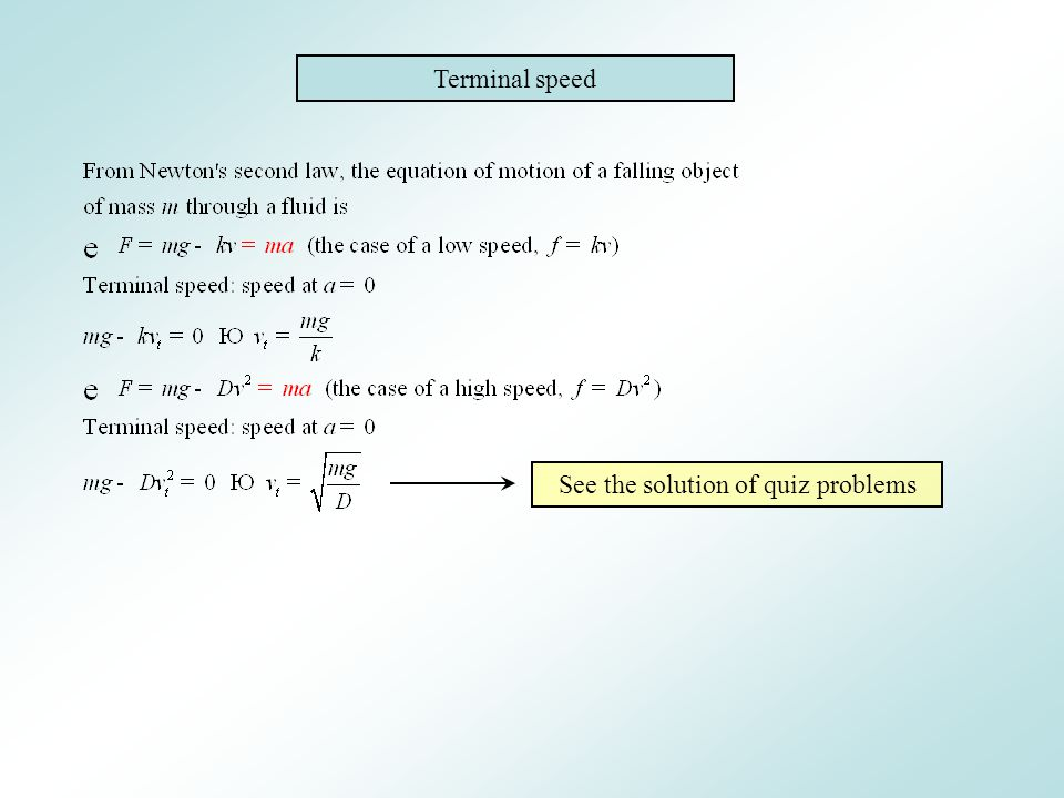 See the solution of quiz problems