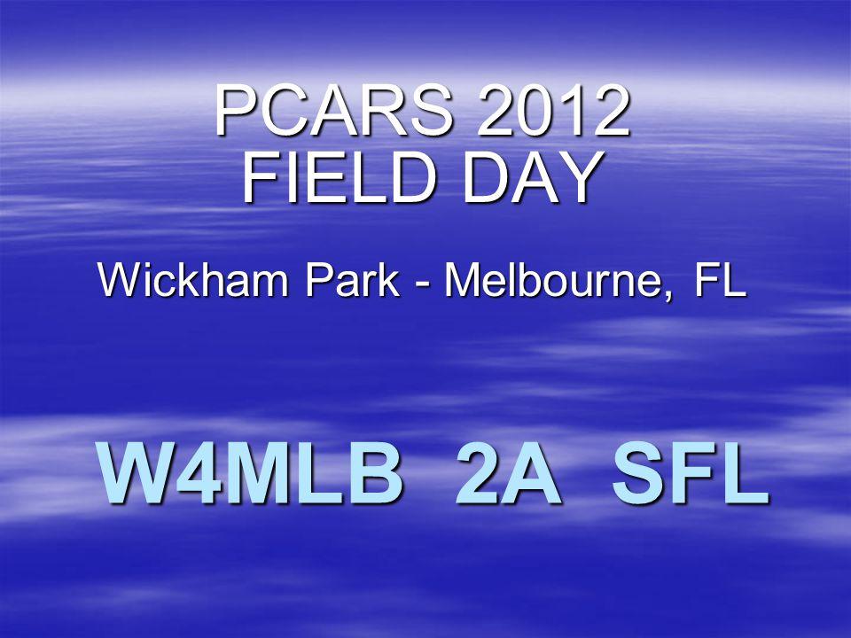 W4MLB 2A SFL PCARS 2012 FIELD DAY Wickham Park - Melbourne, FL