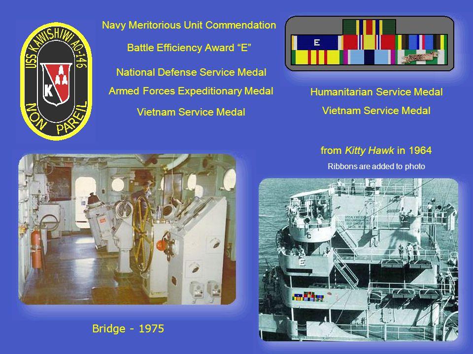 Radar 1963 Capt. Wyand on the bridge -1971 Bridge – 2004 At the helm – 1972