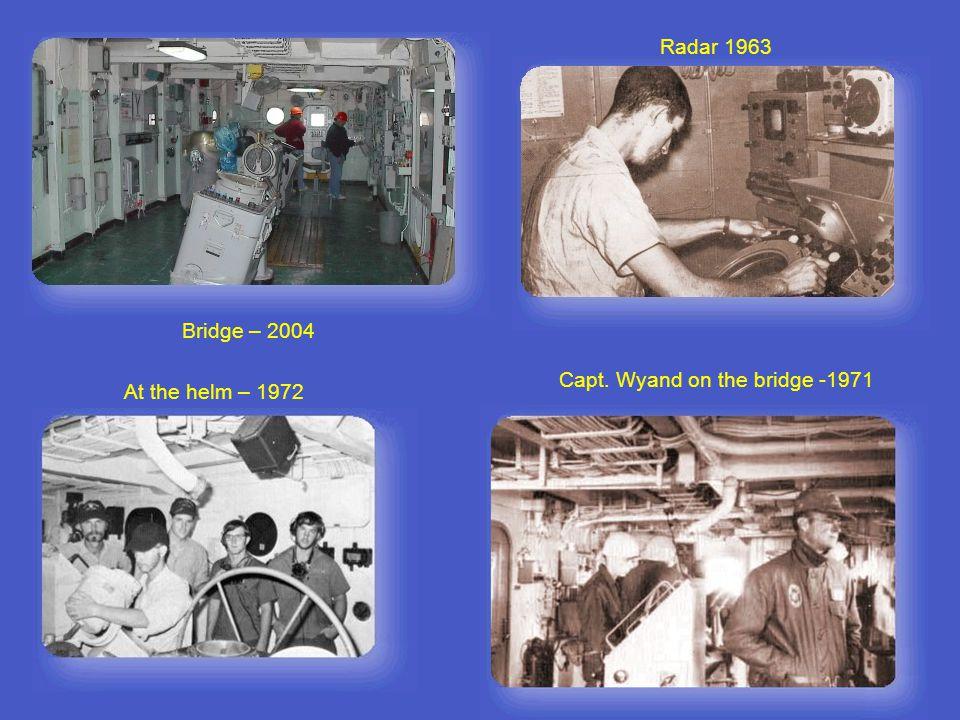 Radar Men - 1969 Course set, 1972 Quarter Deck 1972