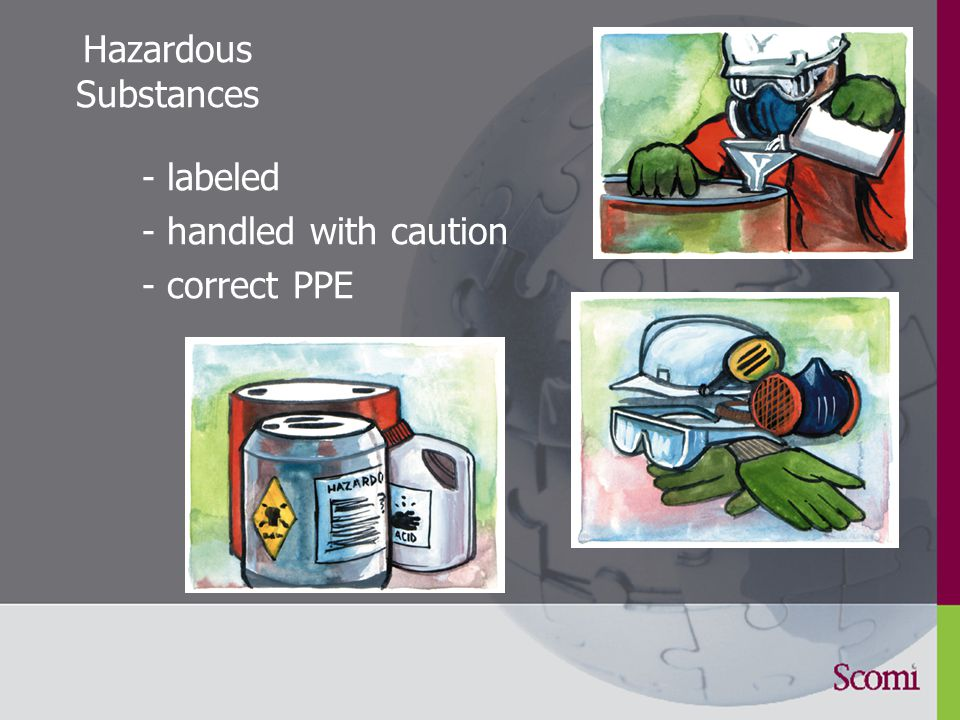 7.6 Control of Substances Hazardous to Health controlled by a competent person registered