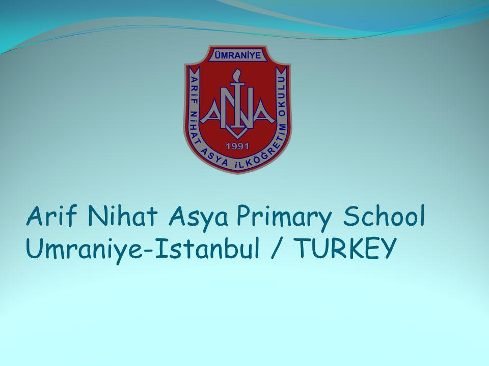 Arif Nihat Asya Primary School Umraniye-Istanbul / TURKEY