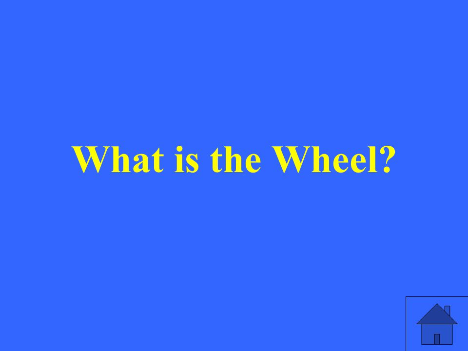 What is the Wheel?