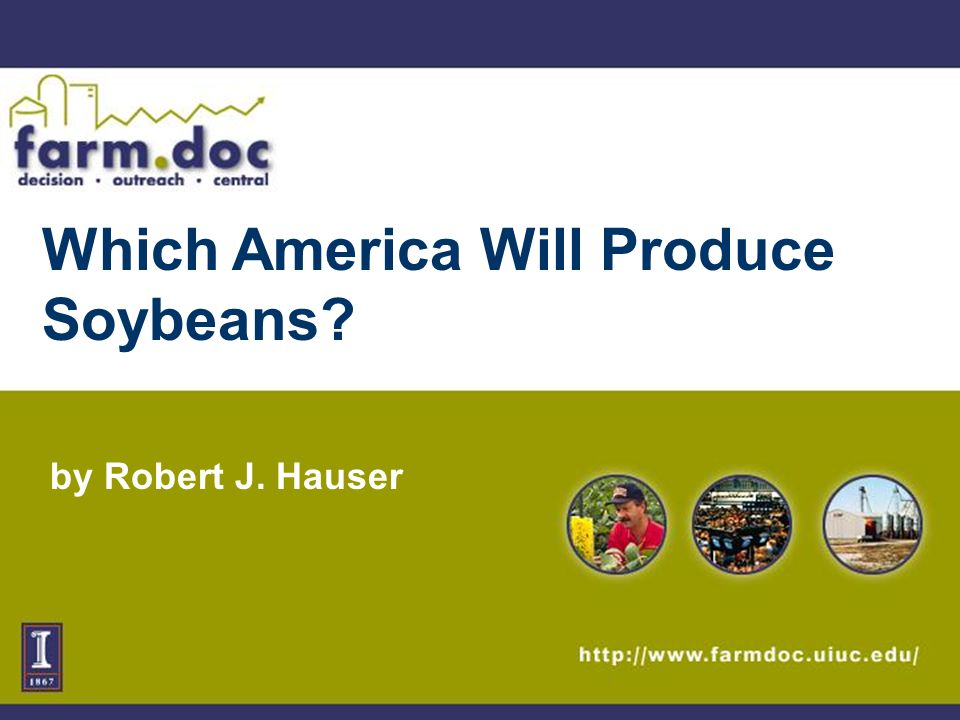 2 South American Production is Raising Questions about: Competitiveness of the U.S.