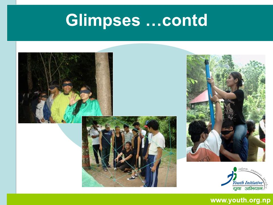 www.youth.org.np Glimpses …contd